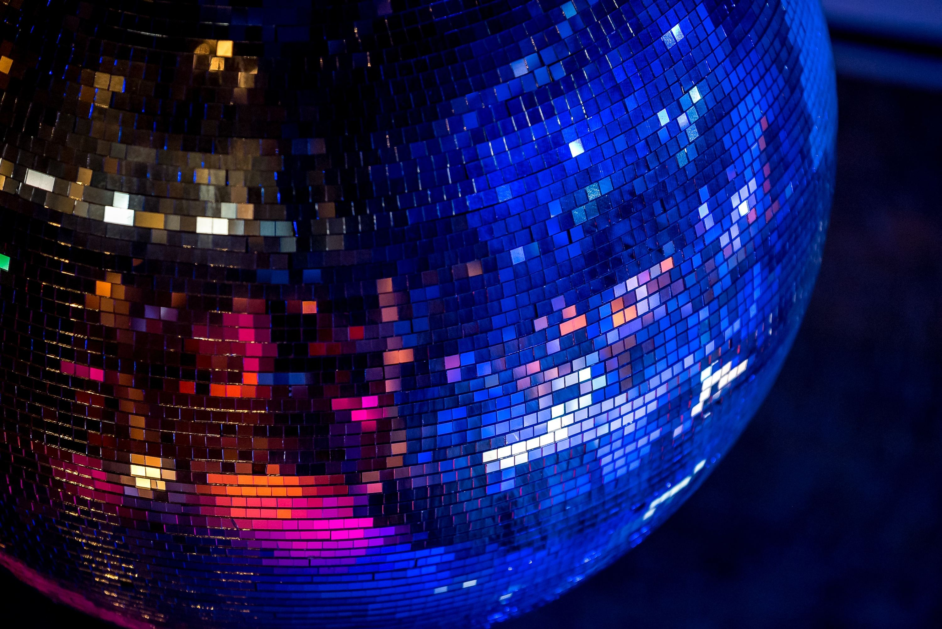 Nightclub disco ball