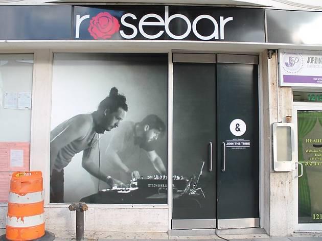 The facade of Rosebar