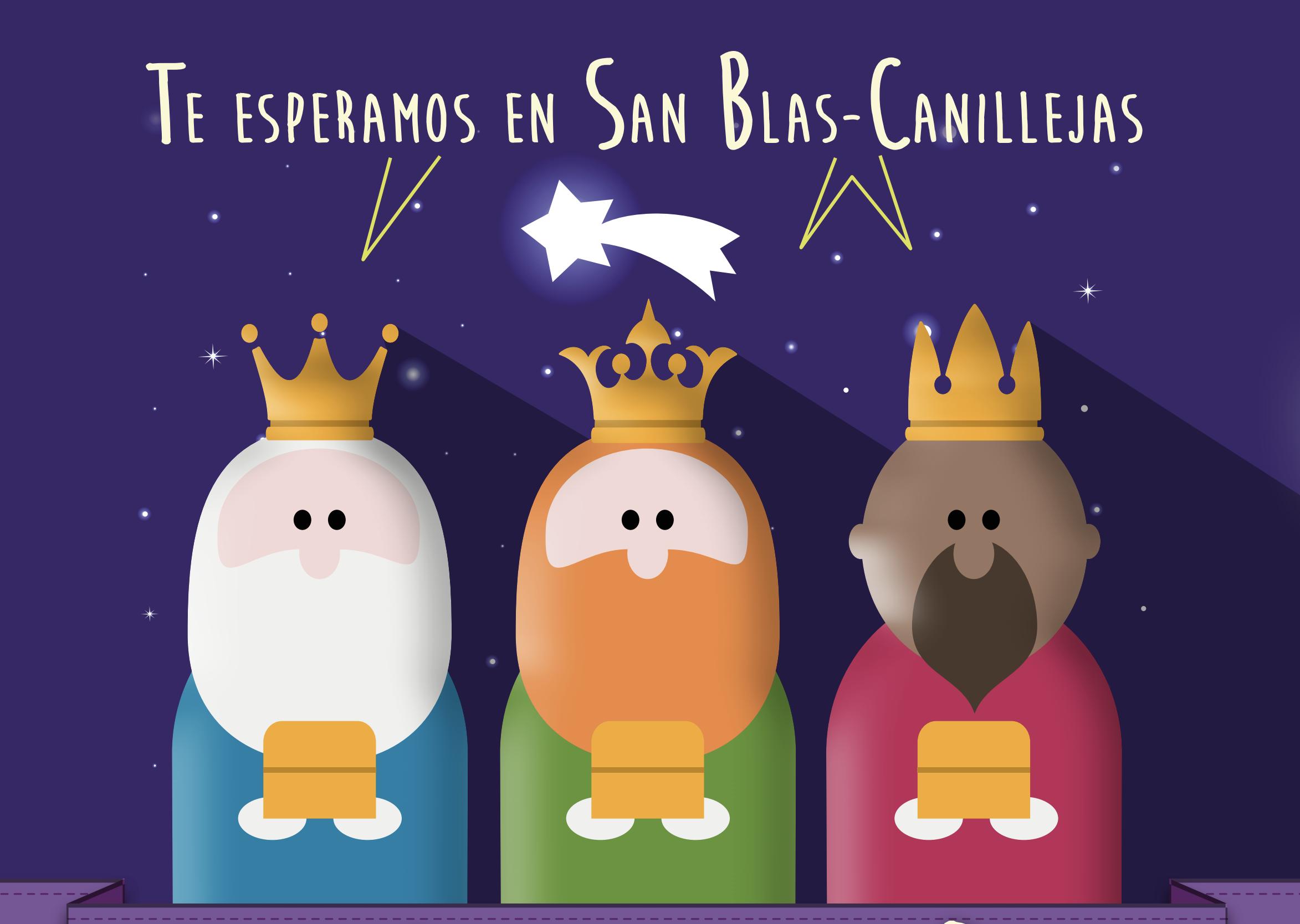 Cabalgata de reyes san blas canillejas