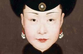 Concubina manchu Ulanara China