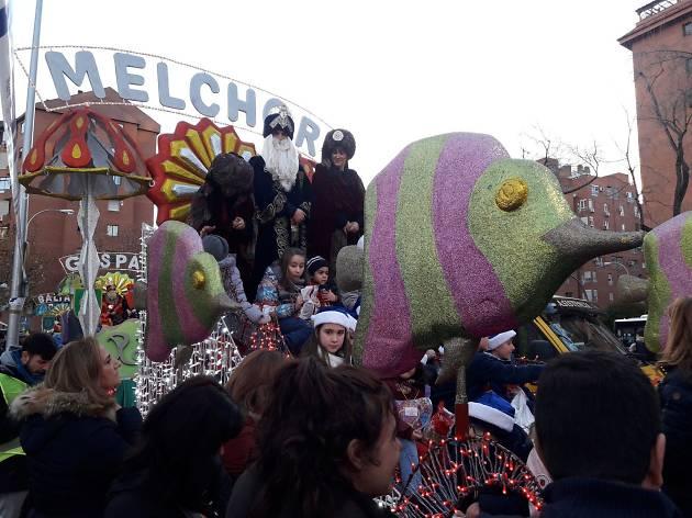 Cabalgata de Reyes Magos Moratalaz