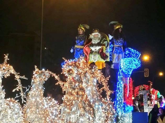 Cabalgata de Reyes Magos 2020 Puente de Vallecas