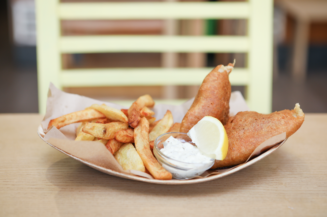 Fish and Chips do World Kitchen
