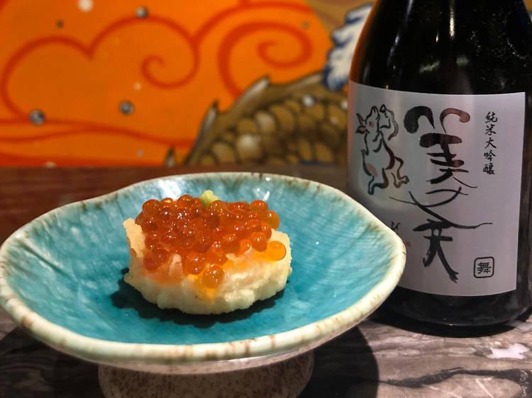 瀧:海鮮配清酒