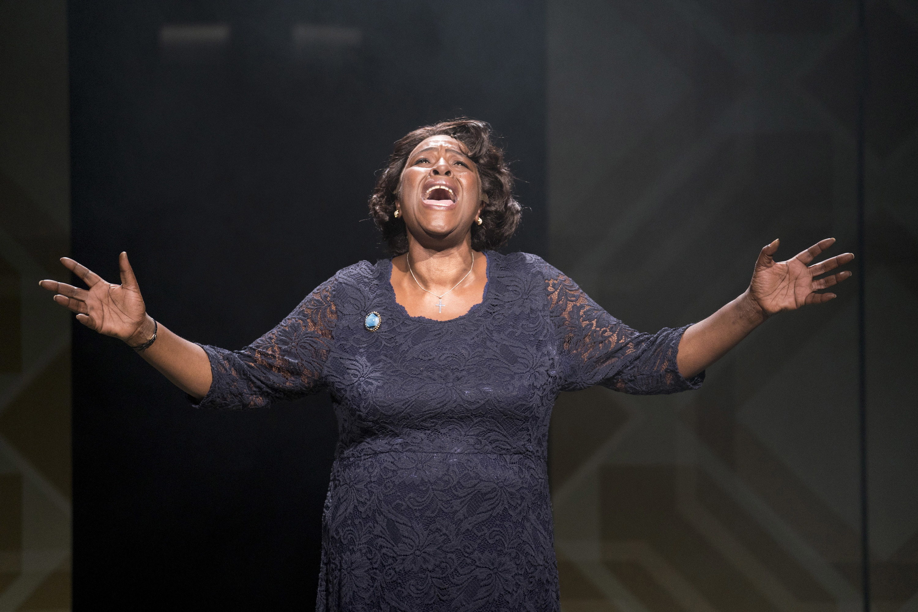 Caroline, or Change play performed at Hampstead Theatre, London, UK