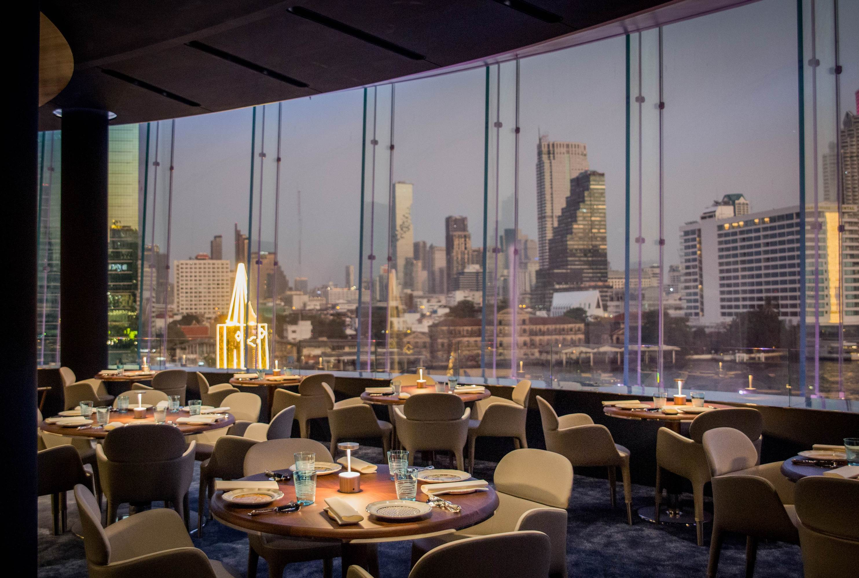 Blue by Alain Ducasse takes the splendid creations of the world's most legendary chef to the Chao Phraya River