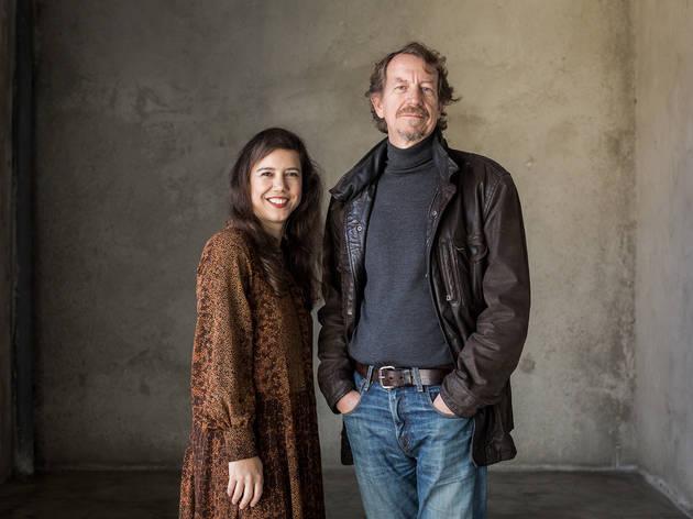 Alda Galsterer e Fernando Belo