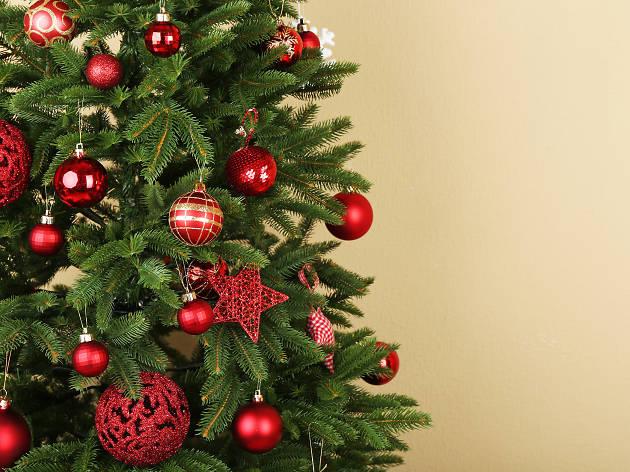Árbol de navidad abeto natural