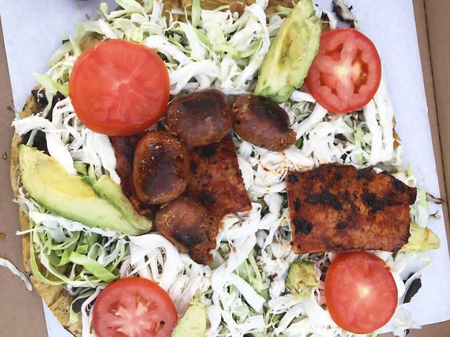 Madre Restaurant Oaxacan Tlayuda