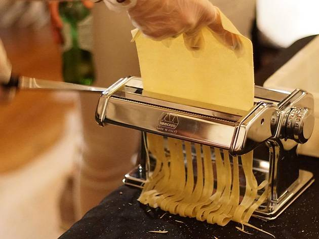 Make Pasta, Fresh Mozz, Drink Wine