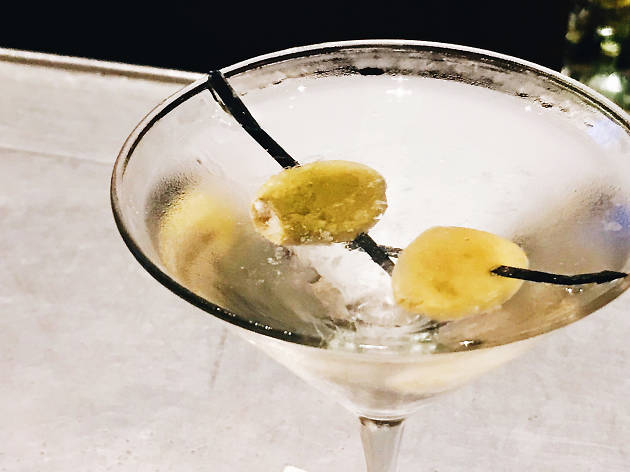 Lawry's meat and potatoes martini