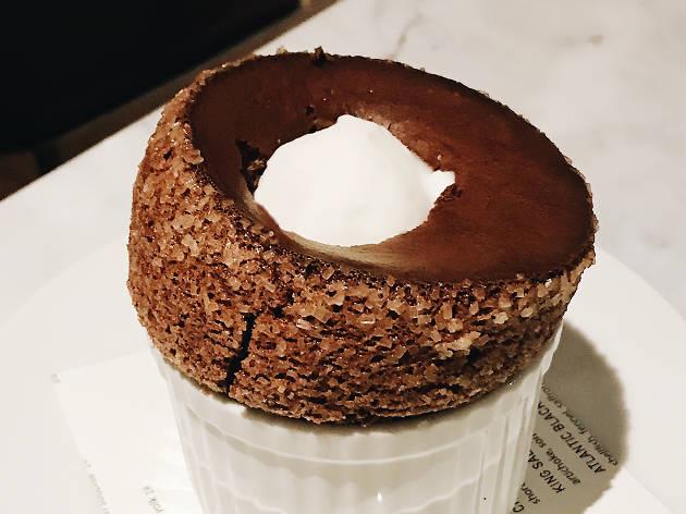 Bon Temps LA chocolate souffle