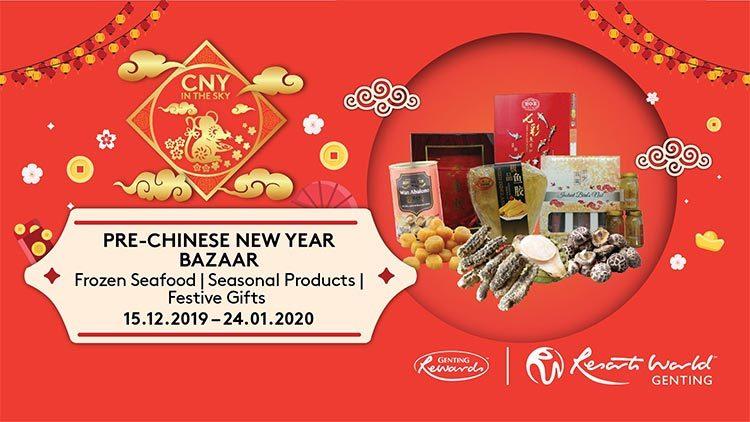 Pre-Chinese New Year Bazaar