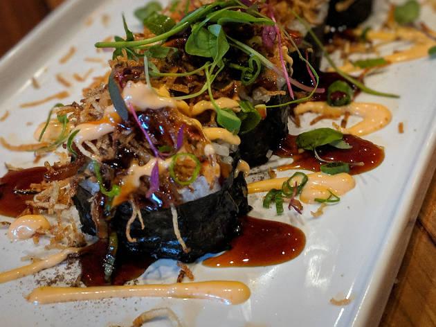 Sandfish Sushi and Whiskey Palm Springs