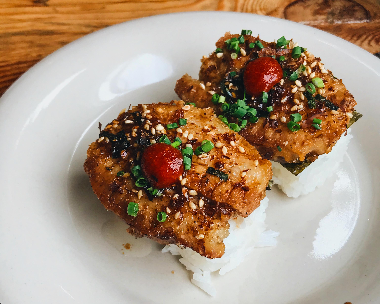 Pork Belly Nigiri Spoon & Pork