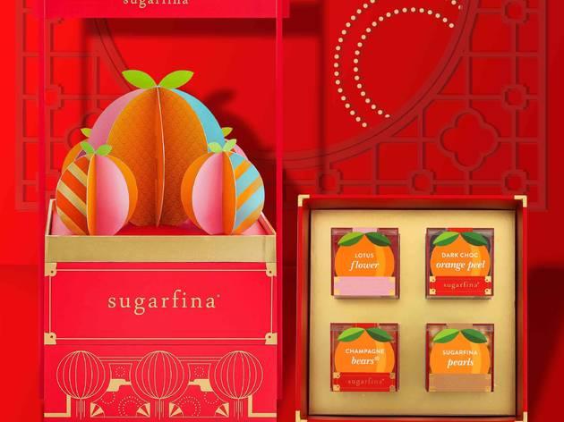 Sugarfina Mandarin Candy Bento Box