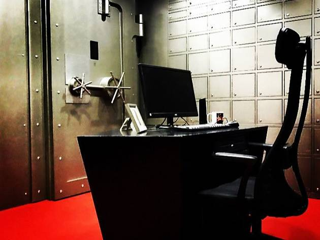 La cambra cuirassada, Mystery Room