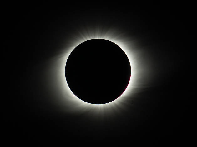 The Sun during totality at La Silla Observatory