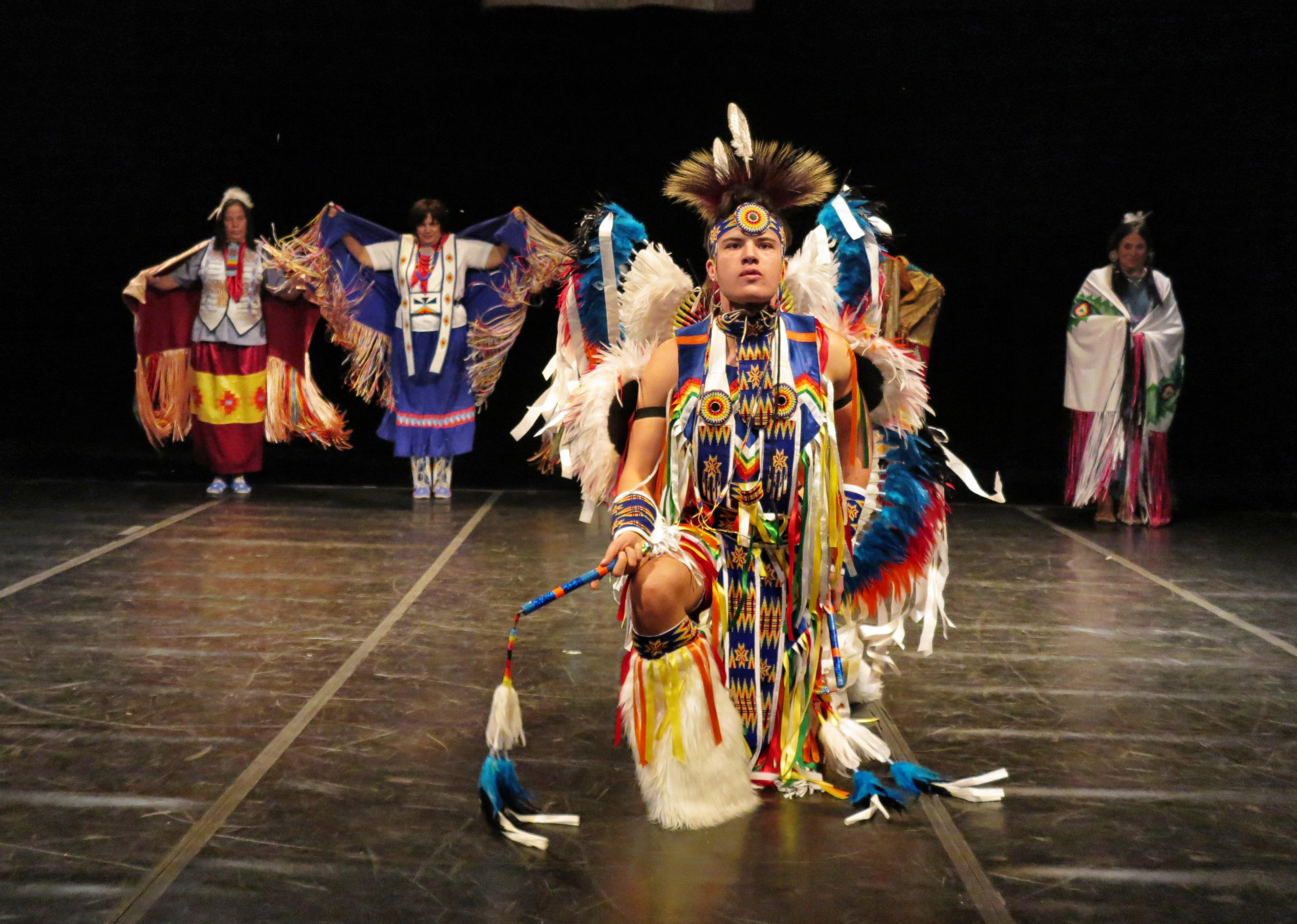 Thunderbird American Indian Dancers Dance Concert and Pow Wow
