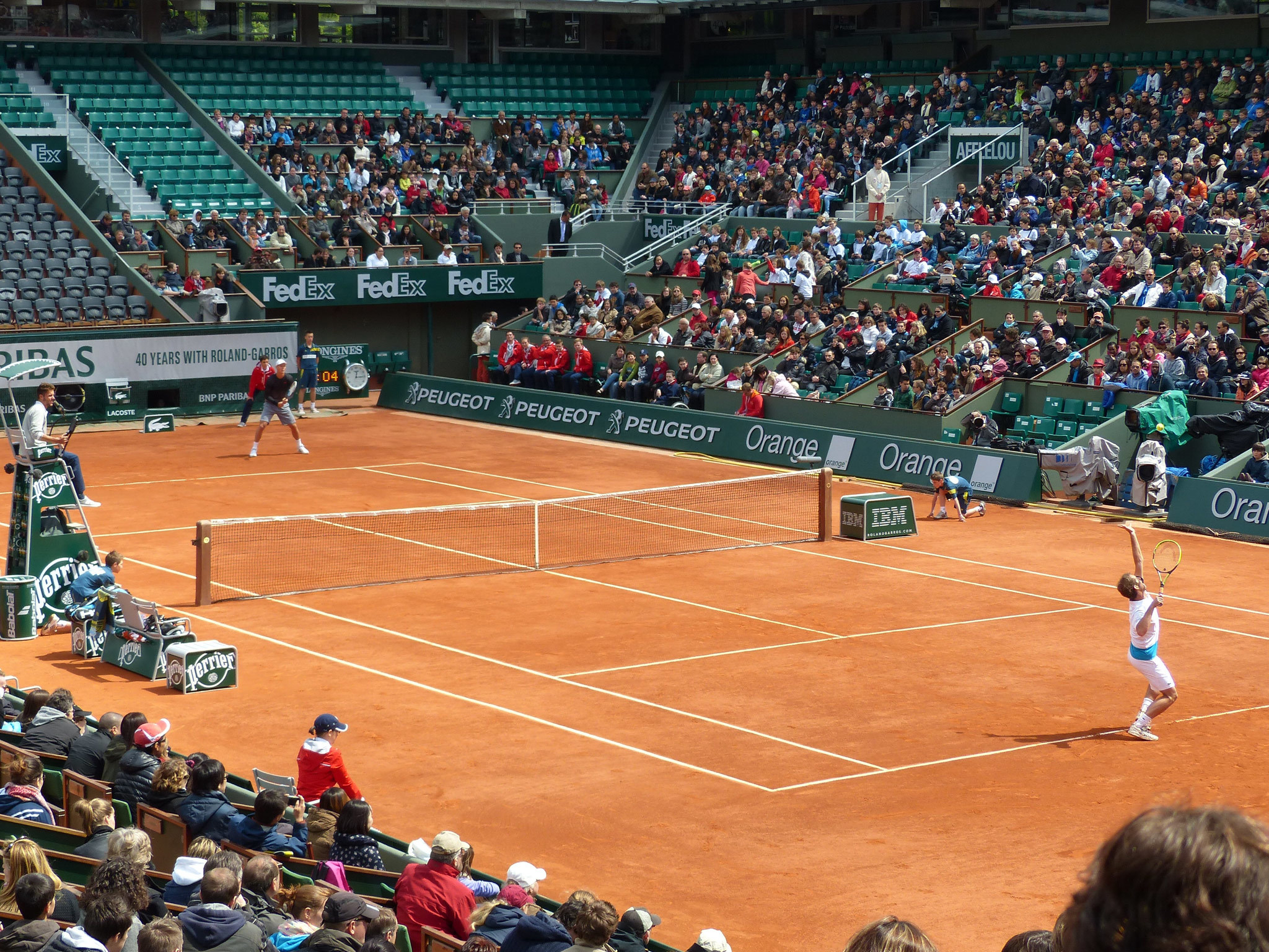 Roland Garros in Paris