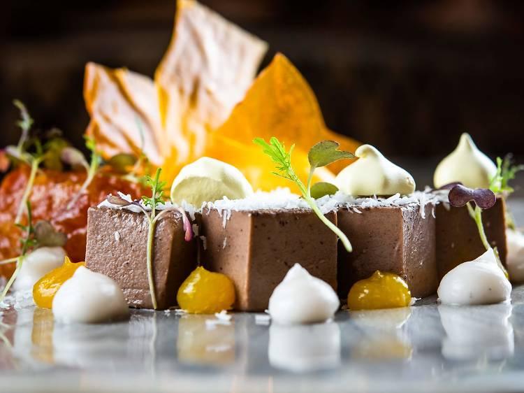 Tofu de chocolate. Bacira