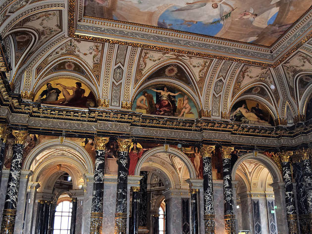 Klimt murals at the Kunsthistorisches Museum