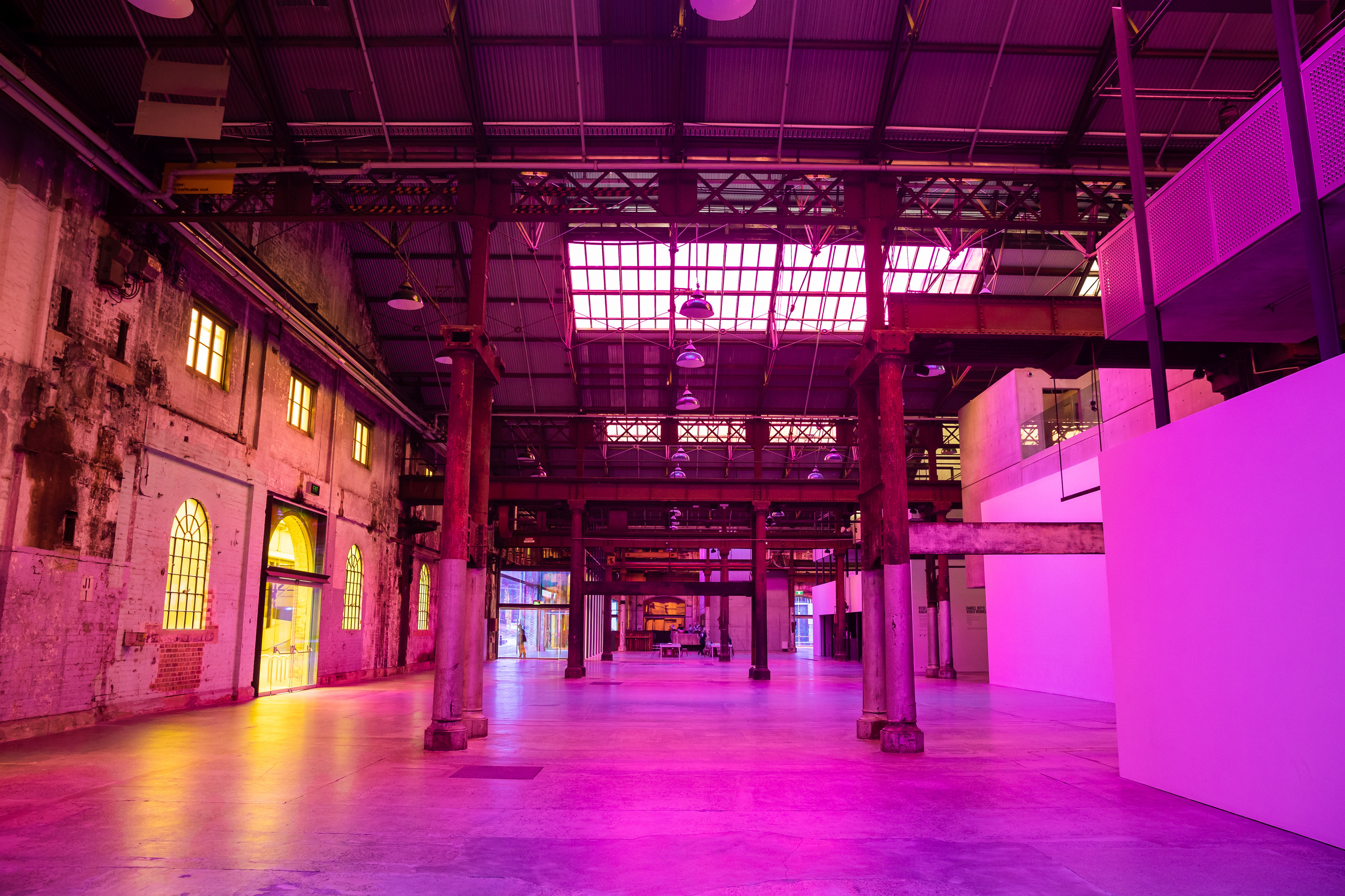 Radiant Flux - Rebecca Baumann - Carriageworks