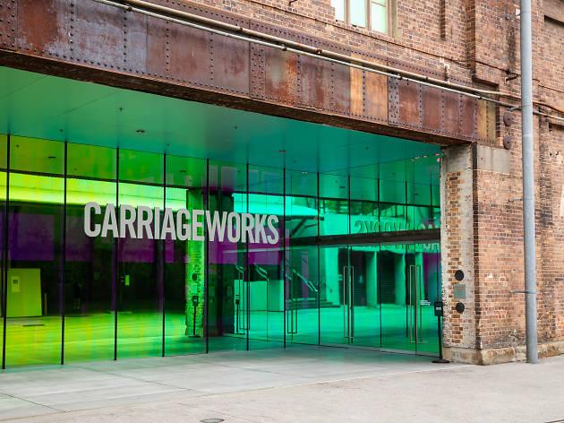 Rebecca Baumann: Radiant Flux Carriageworks 2020 credit Daniel Boud