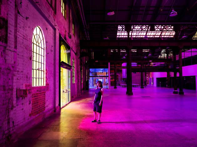 Rebecca Baumann: Radiant Flux Carriageworks 2020 credit: Daniel Boud