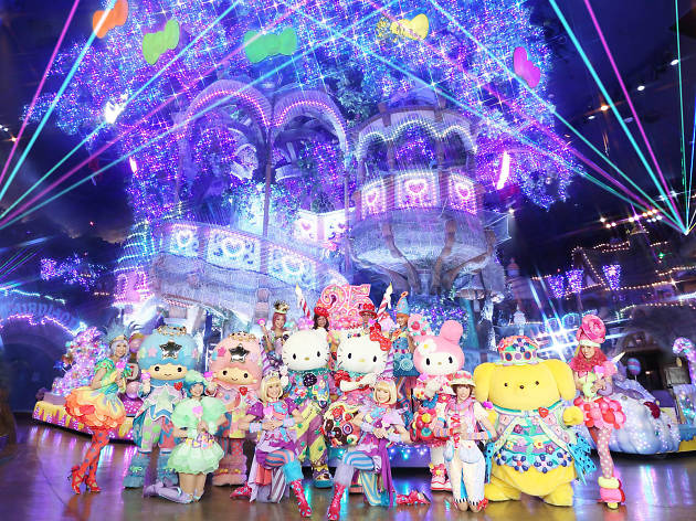 Best indoor theme parks and amusement parks in Tokyo