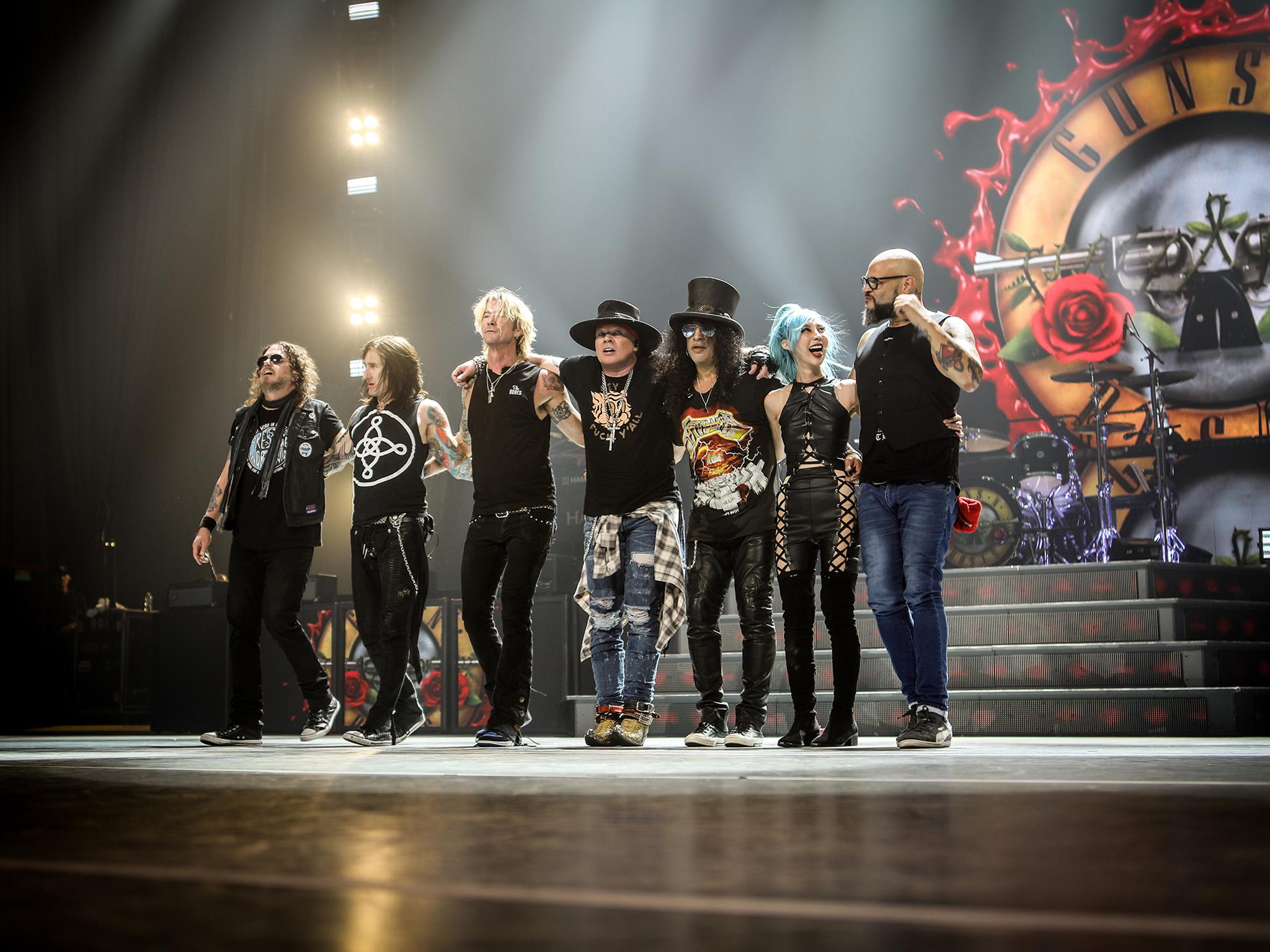 Guns N' Roses de regresso a Portugal em 2022