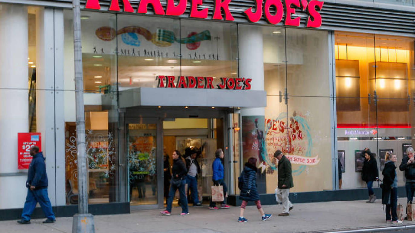 A new Trader Joe's opened today in the East Village!