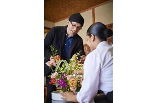 ホテルで楽しむひなまつり~花々の祈り 麗しき雛たちへ~