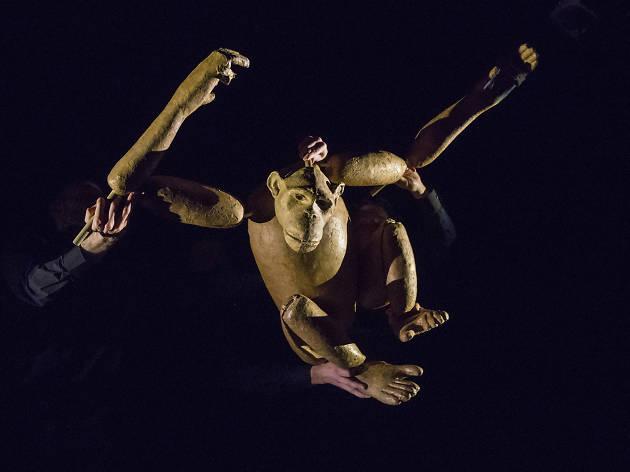 Chimpanzee, Nick Lehane, Barbican, London International Mime Festival 2020