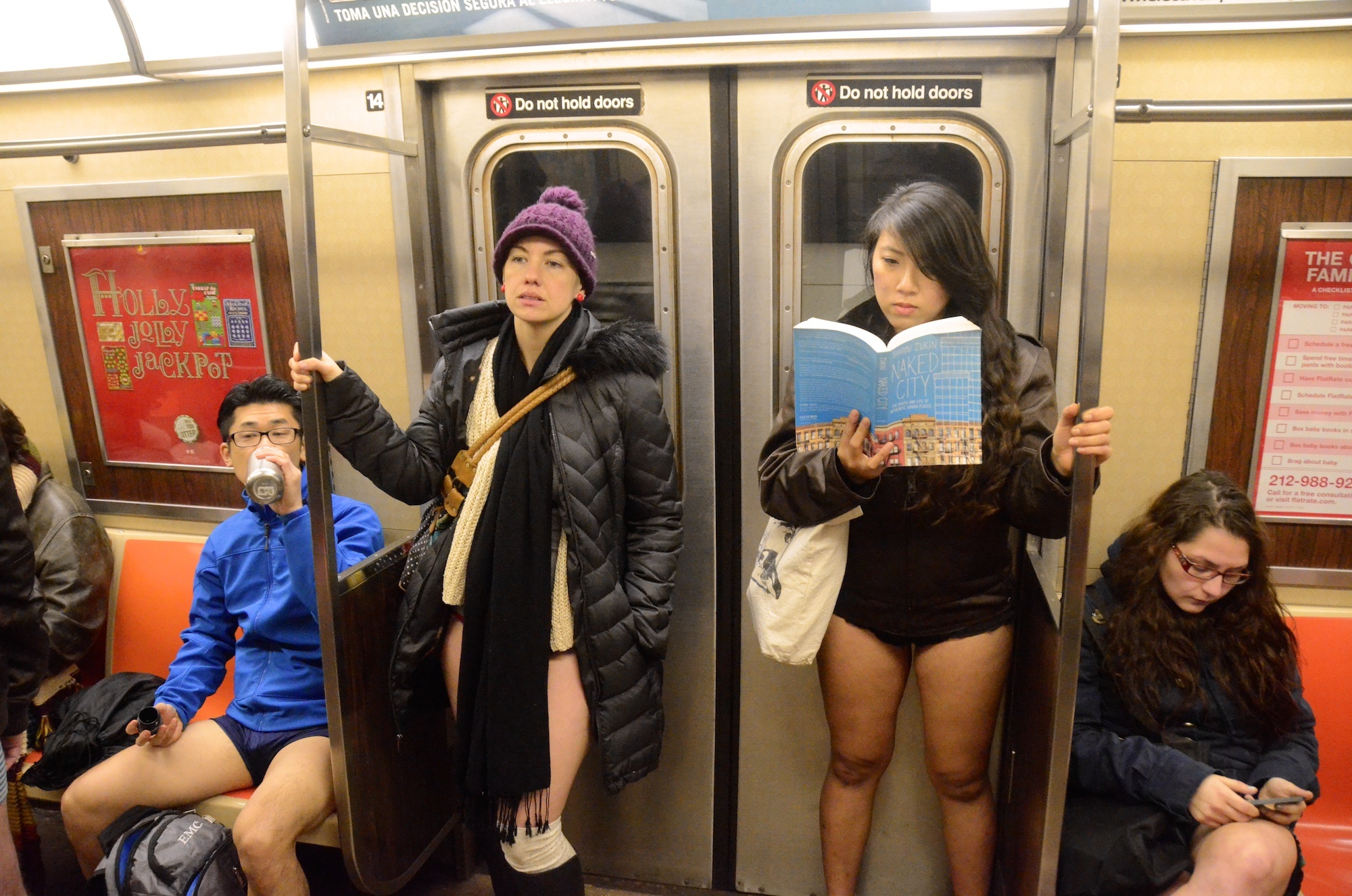 The No Pants Subway Ride returns to NYC this weekend