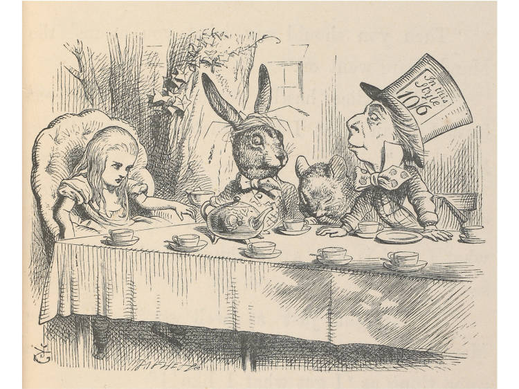 Go down the rabbit hole at a celebration of Alice
