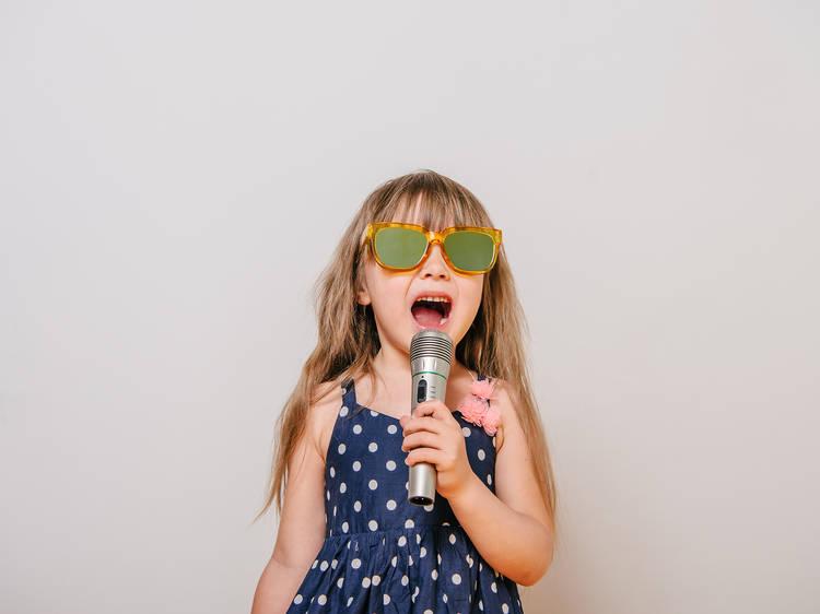 The best karaoke songs for kids