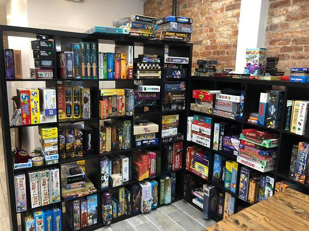 Check out this new board game café