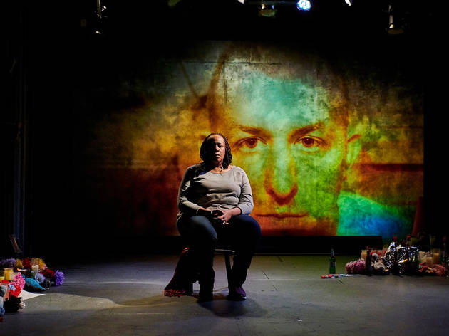 Dael Orlandersmith in 'Until the Flood'