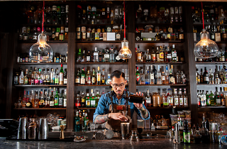 Night Shift by Samuel Kwok, Supported by The Botanist Gin