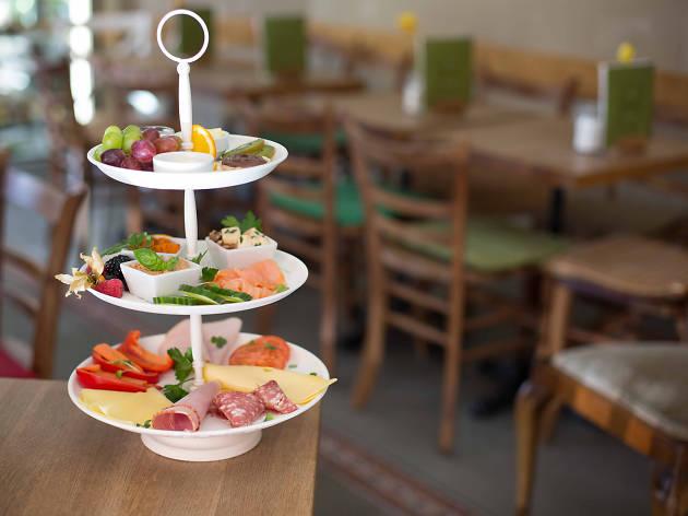Glauburg Café in Frankfurt