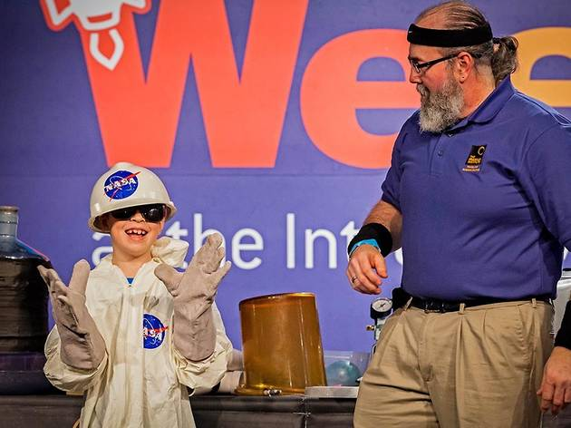 Kids Week At The Intrepid Museum
