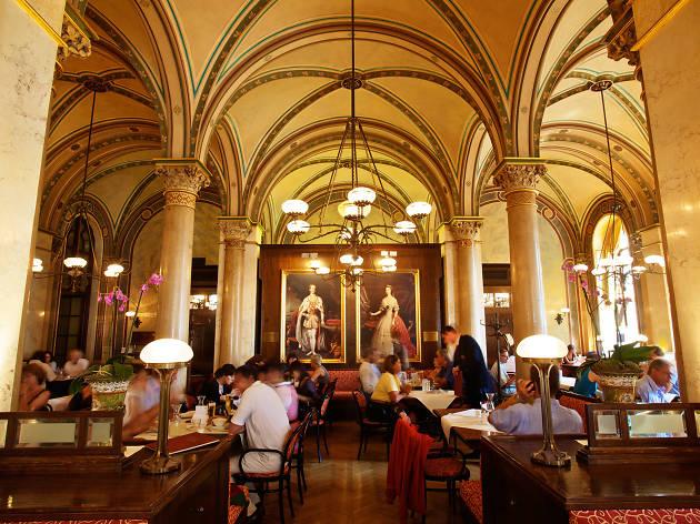 Café Central in Vienna