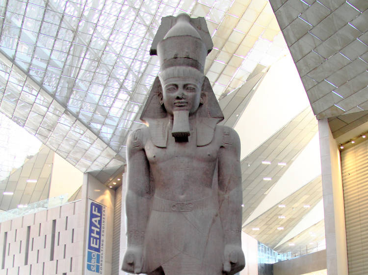 Check out King Tut's enormous new pad