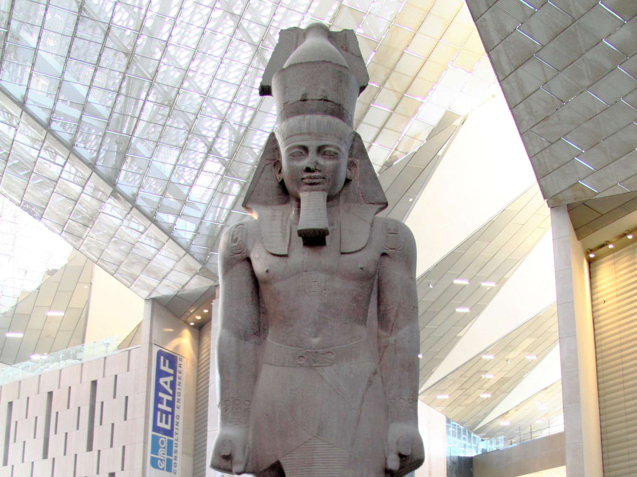 Grand Egyptian Museum, opening 2020