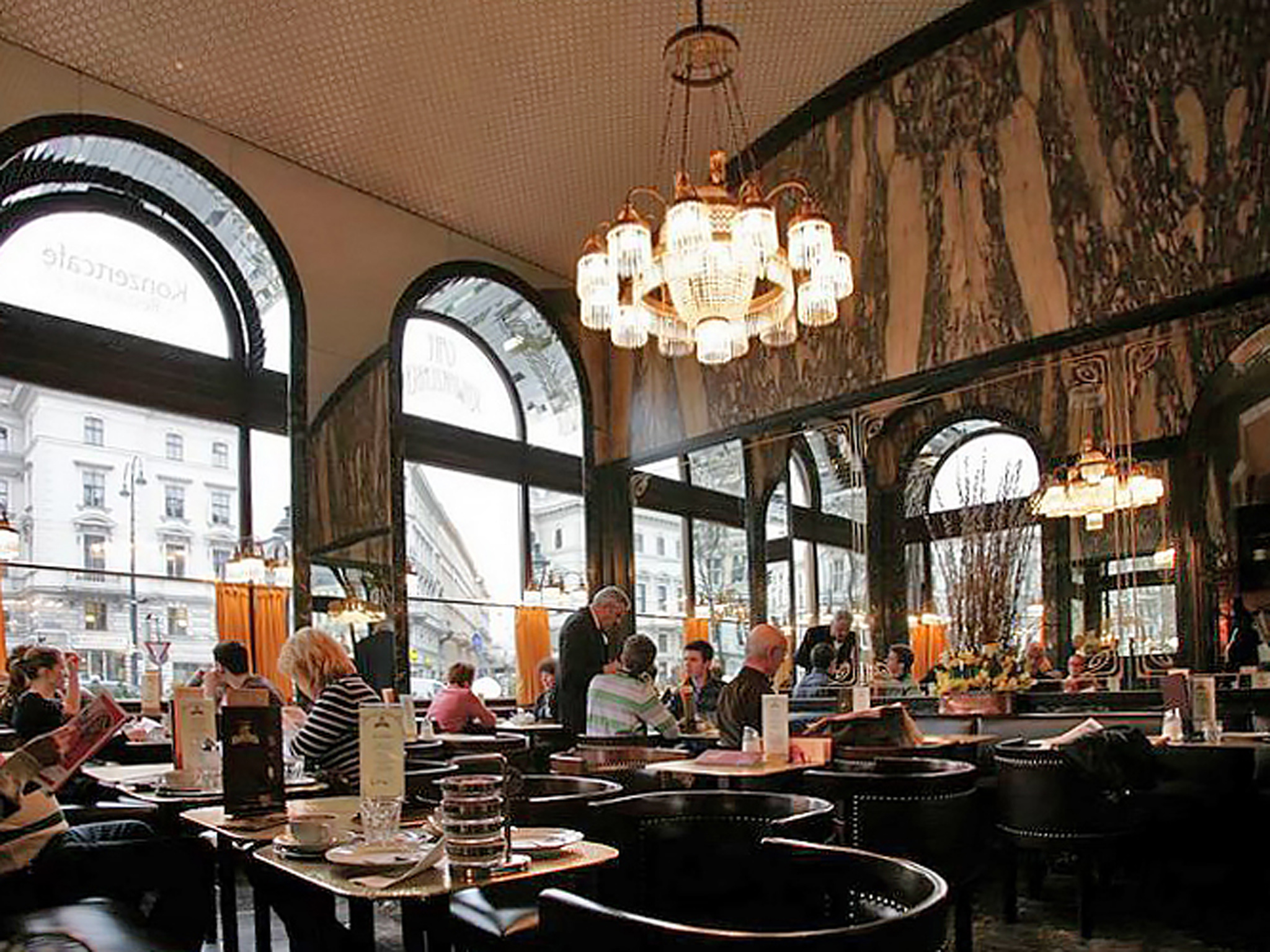 Café Schwarzenberg in Vienna