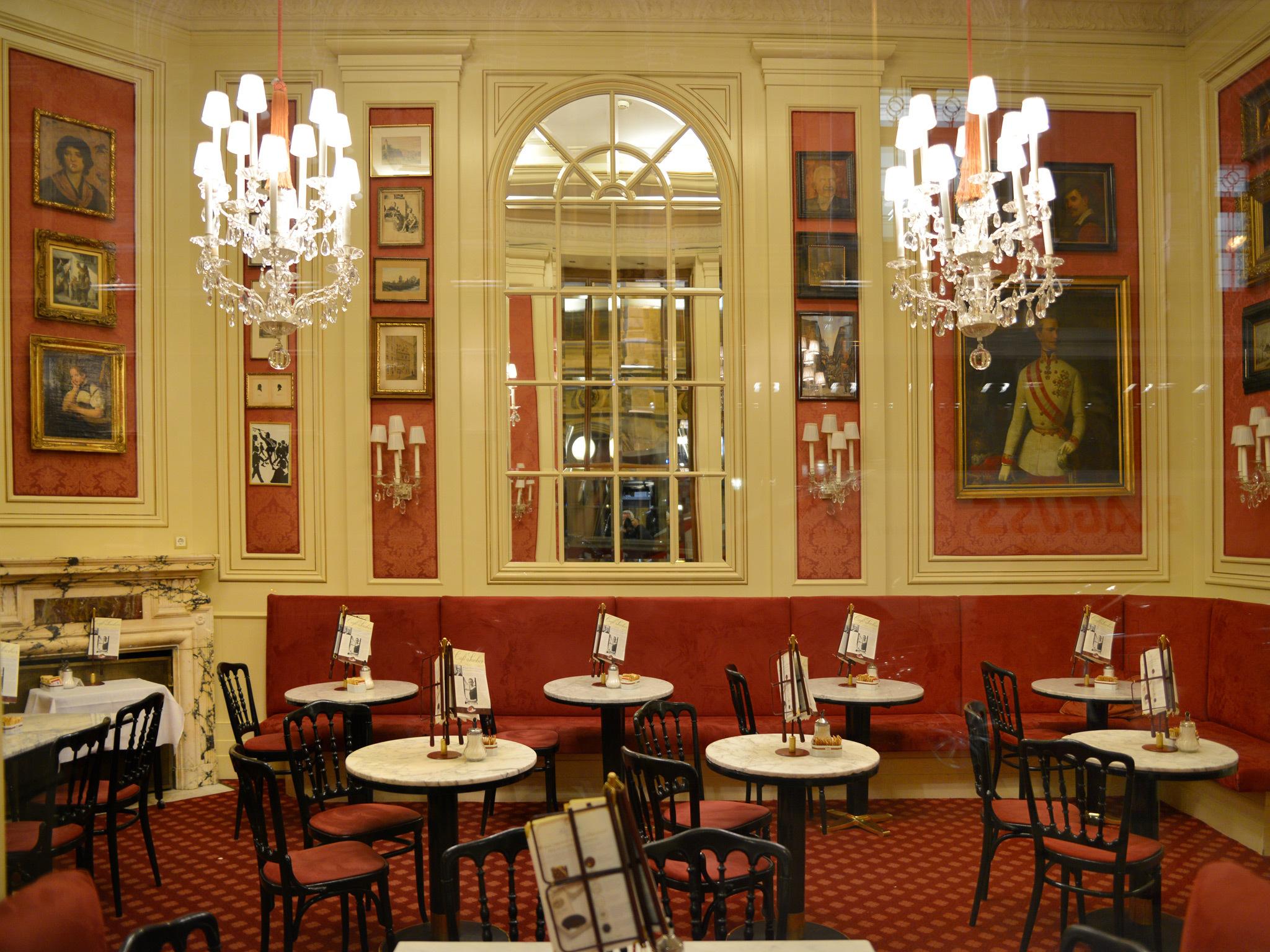Café Sacher in Vienna