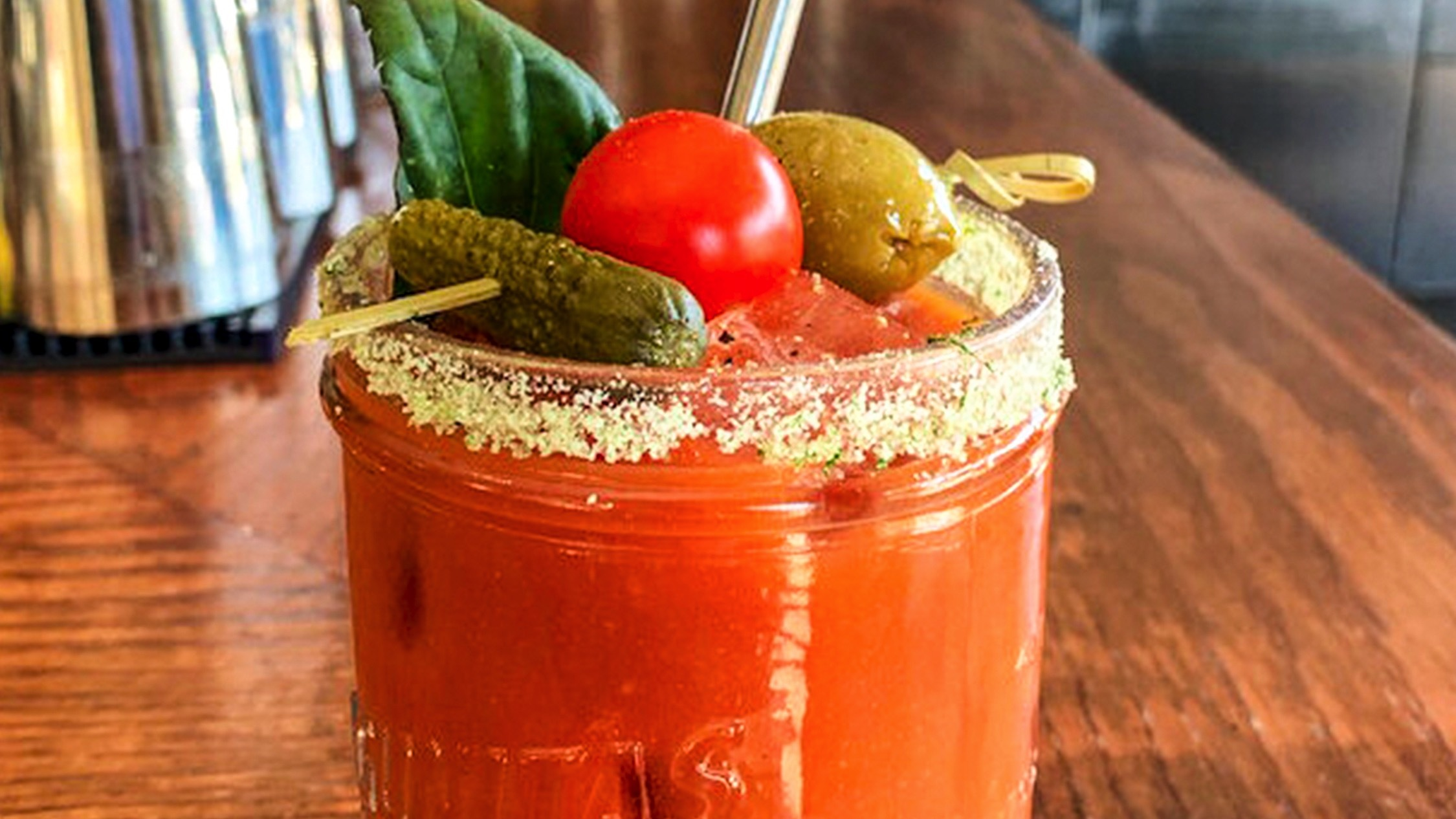 The Hive Bar bloody mary