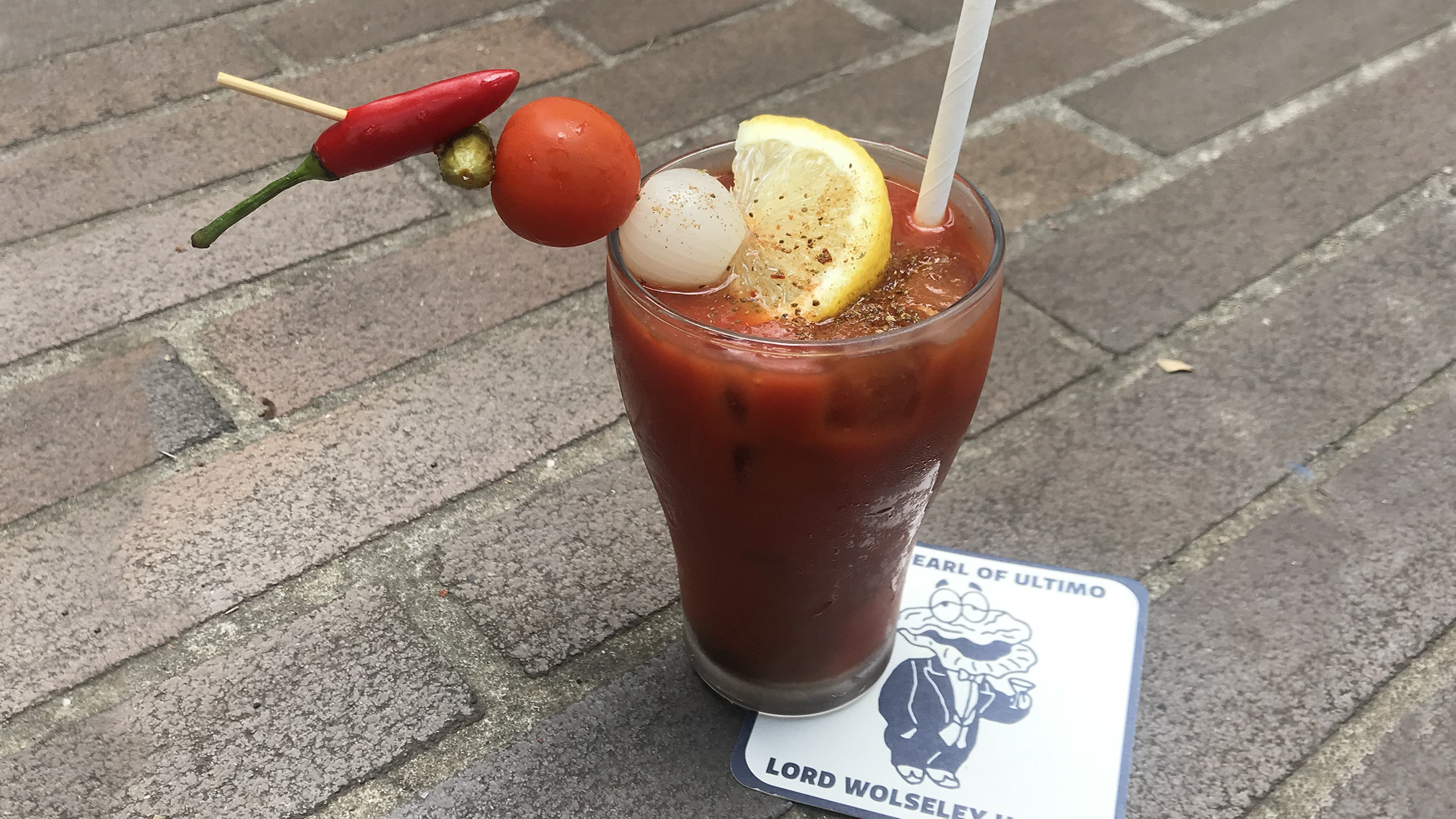 Bloody Mary at Lord Wolsely