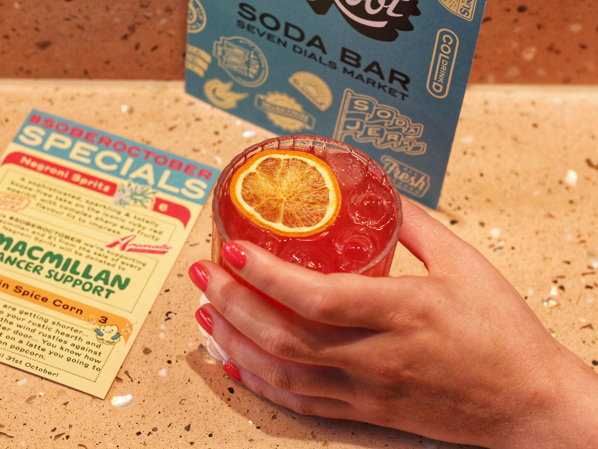 Square Root Soda Bar
